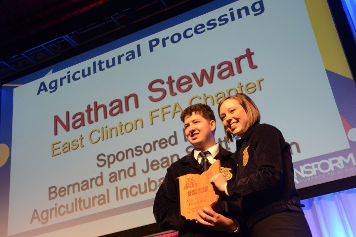 Agricultural Processing Nathan Stewart East Clinton FFA