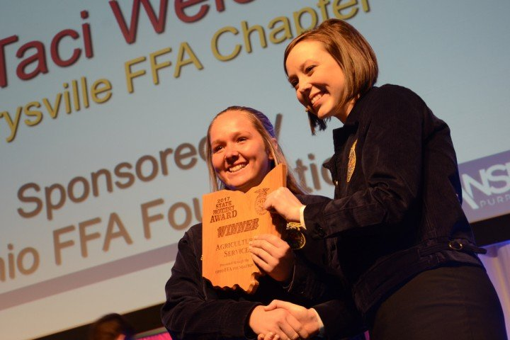 Agricultural Services Taci Welch Marysville FFA