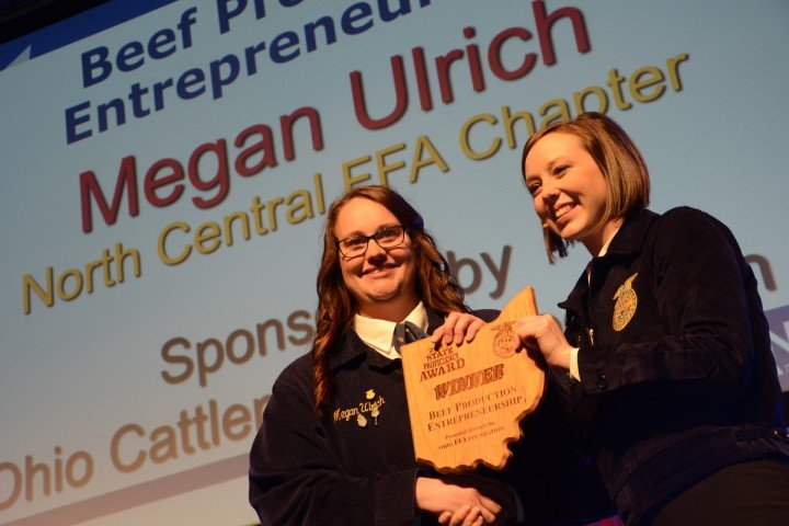 Beef Production Entrepreneurship Megan Ulrich North Central FFA