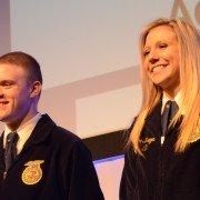 Our own student reporters made the top two in the Agricultural Communications Proficiency!