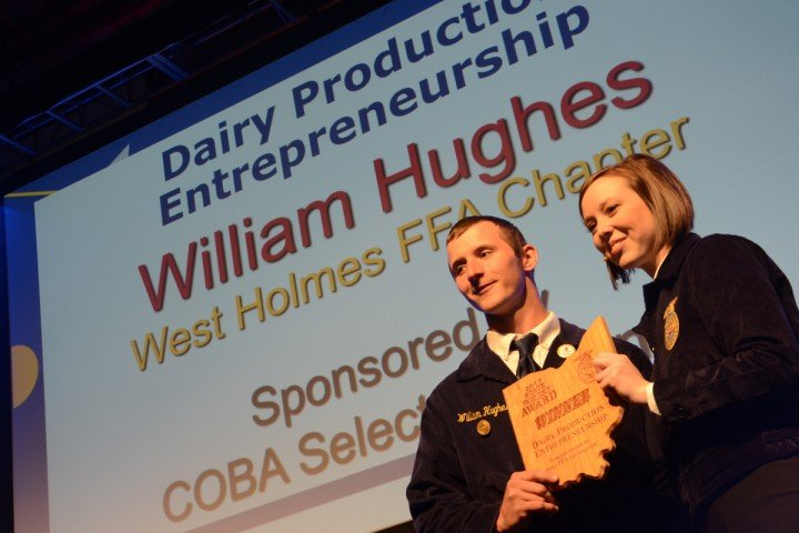 Dairy Production Entrepreneurship William Hughes West Holmes FFA