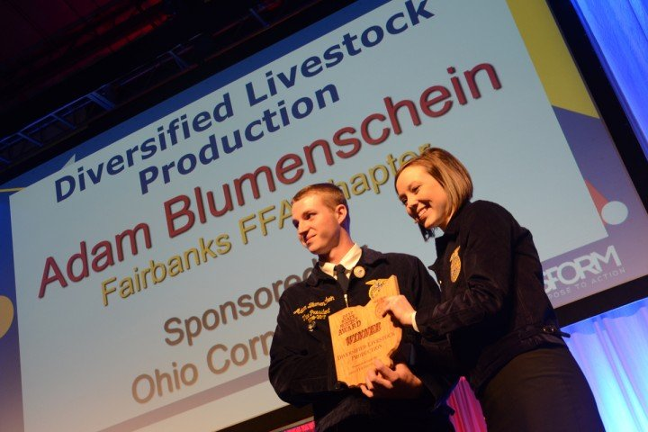 Diversified Livestock Production Adam Blumenschein Fairbanks FFA