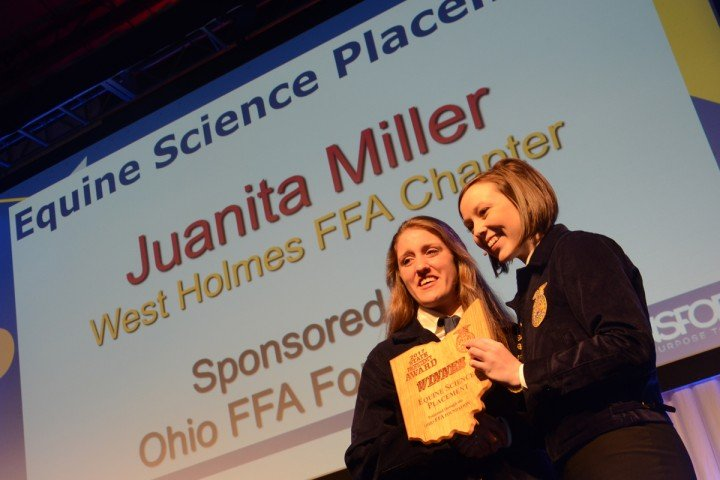 Equine Science Placement Juanita Miller West Holmes FFA