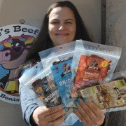 Katie Levesque started making beef jerky in her kitchen during college and now has a growing Ohio Proud business.