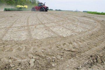 Drewes corn planting