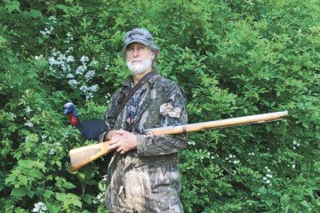 Lars Lutton, of Morgan County, is a muzzleloader enthusiast who has been shooting black powder rifles competitively since the early 1980s.