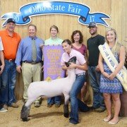 Res. Grand Champion: Carly Gump, Fletcher (Grade Res. Champion)
