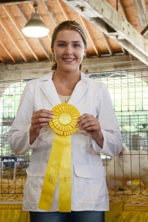 Kady Davis, Carroll Co., was fifth overall