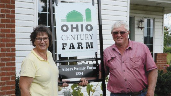 Lou Ann and Leonard Albers live on the Albers Century Farm in Shelby County.