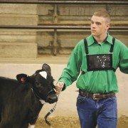 Kolt Buchenroth, a junior fair exhibitor from Hardin County, has learned plenty about animal care through 4-H.