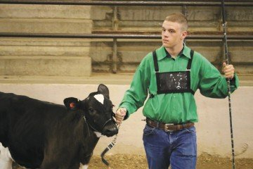 Kolt Buchenroth, a junior fair exhibitor from Hardin County, has learned plenty about animal care through 4-H.