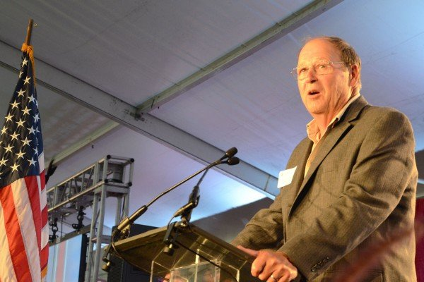 Director David Daniels talked about the importance of agriculture in Ohio.
