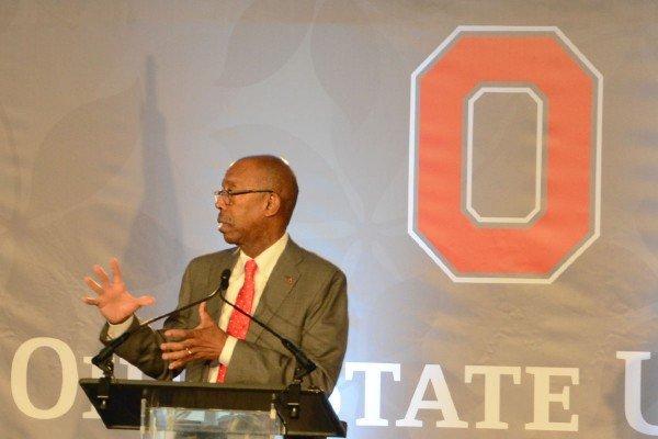 OSU President Michael Drake provided an update.