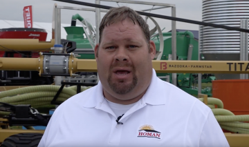 Dale Everman with Homan Inc. talked to Joel Penhorwood for a video.
