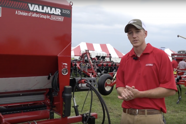 Adam Fennig with Fennig Equipment and Salford discusses tillage tools and cover crops for a video.