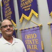 There are not many small town Ohio mayors with office walls lines with champion hog banners. Groveport mayor Lance Westcamp is the exception.
