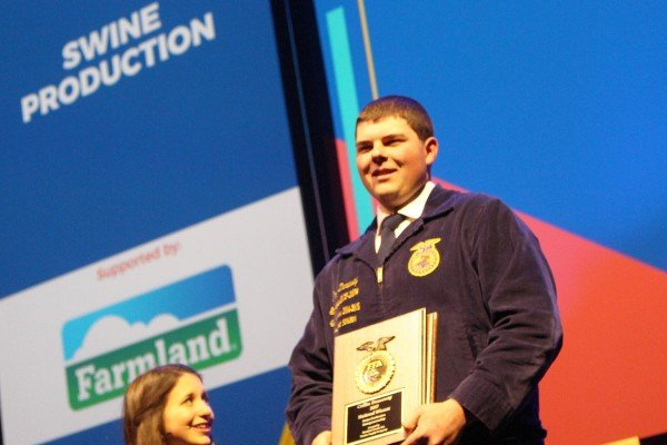 Swine Production-Entrepreneurship – Collin Dunaway, Felicity-Franklin