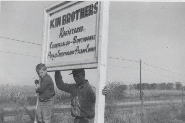 Kin Al Jim sign 1962