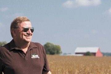 John Motter from Hancock County is finishing up his term as chairman of the United Soybean Board. Photo by USB.