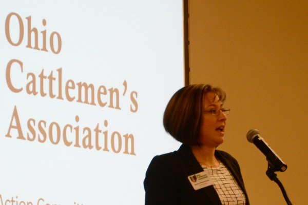 Sasha Rittenhouse, the new Ohio Cattlemen's Association president