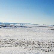 snow farm scene