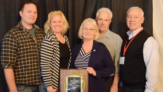 The Surber family was recognized with the Industry Excellence Award.