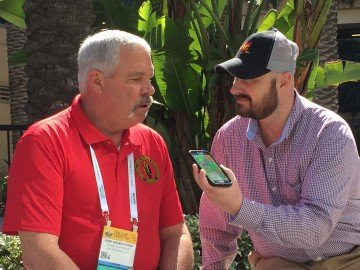 Ty interviews Gene Baumgardner, president of the CornPAC Committee and a farmer from Ohio.
