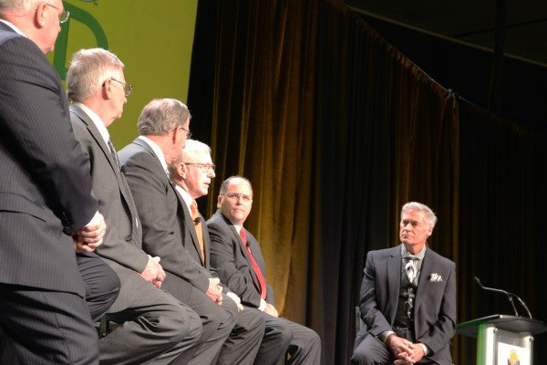 The General Session also included comments from the leaders of the five associations that present Commodity Classic: American Soybean Association, National Corn Growers Association, National Association of Wheat Growers, National Sorghum Producers and the Association of Equipment Manufacturers.