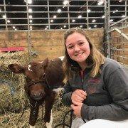 Deanna Langenkamp is from Darke County with the Buckeye Dairy Club.