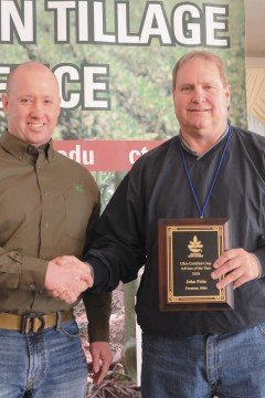 Fritz was recognized as CCA of the Year at the Conservation Tillage and Technology Conference.