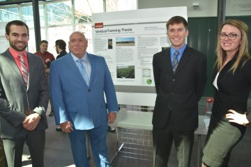 """""""We are changing the way people eat locally with vertical farming."""" - Jeffrey Williams ASM Student"""