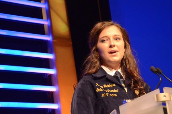Kacey Reinhart, vice president