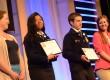 FFA members represent Ohio's new chapters AB Graham OHP Middle FFA and Gamble Montessori FFA
