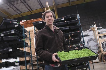 Waterfields pairs a social mission with a viable food production business in Cincinnati. Daniel Klemens is one of the founders.