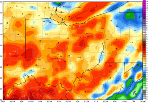 Ohio Ag Weather and Forecast, August 15, 2018