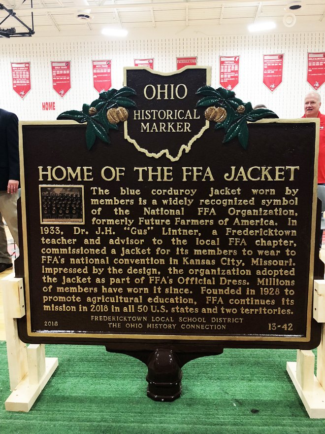 wholesale dealer 3ac6c d7f1e Fredericktown High School receives Ohio Historical Marker ...